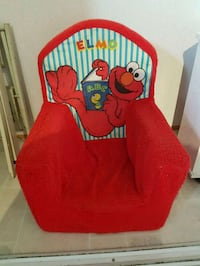Fabric Elmo kids chair Edmonton, T5S 1T5