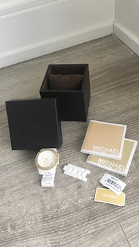 White ceramic Michael Kors watch with minor chip  Richmond Hill, L4C