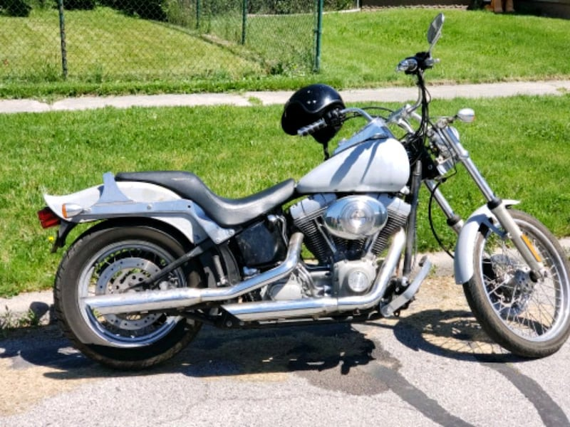 2003  Softail (will trade 4 Truck) 0