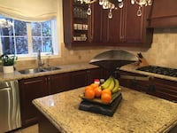 Solid Maple kitchen cabinets and granite counter tops Vaughan, L0J 1C0