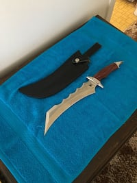 Frost Cutlery Knife with Sheath  Mount Vernon, 98273