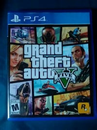 Grand Theft Auto Five PS4 game case Council Bluffs, 51503