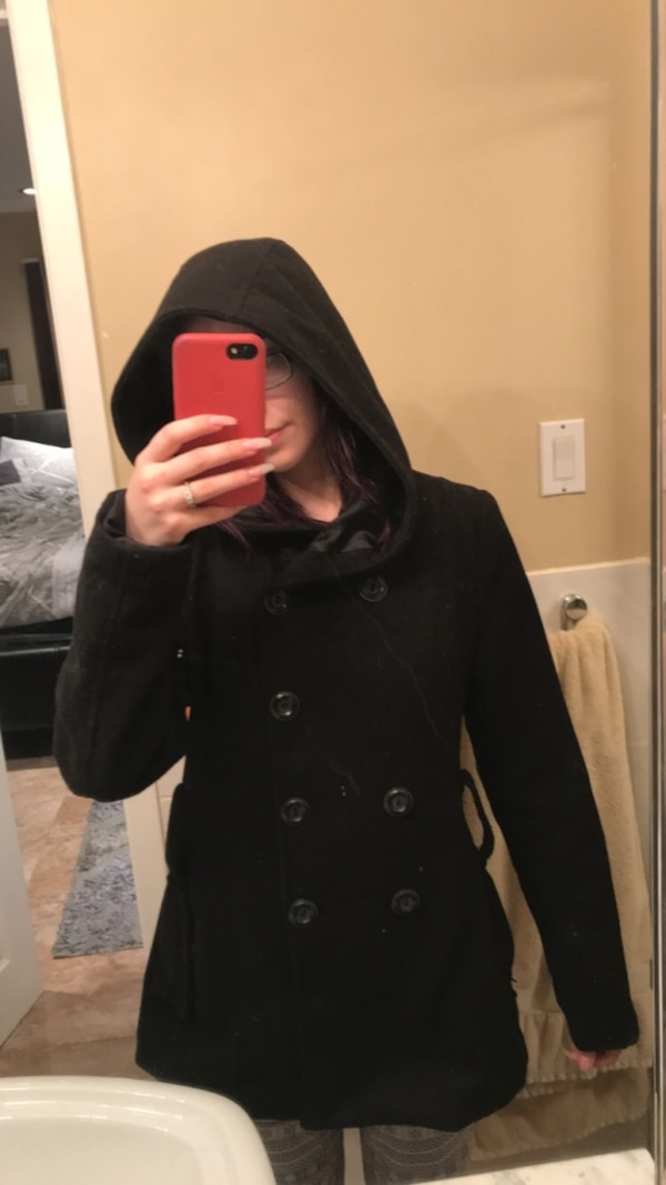 120fe653fd8 Used Wool Coat with Hood for sale in Mississauga - letgo