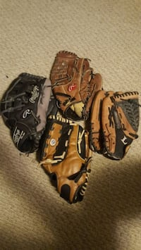 Baseball gloves $15 each price is firm Charleston