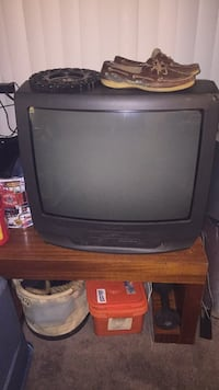 Good quality tv with a working VHS player  2053 mi