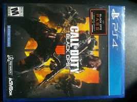 Unopened Call of Duty Black Ops 4 for sale