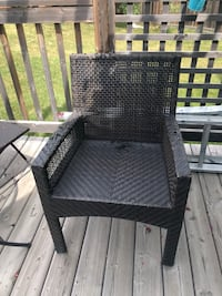 Wicker chair needs repair as is  Edmonton, T6T 0B2