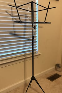 Musician's gear folding Music Stand- Black Brookeville, 20833