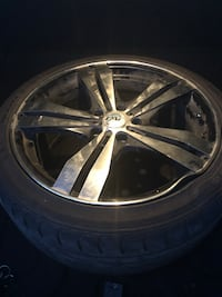 4 mags 18 inch on low profile tires Laval, H7K 3H5