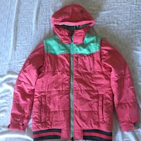 red and green zip-up hoodie Mc Lean, 22102