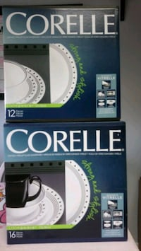 Corelle glass dinnerware