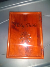 Wooden box /bible protection  Westminster