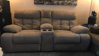 Tan Manual Home theater style recliner. Winter Springs, 32708