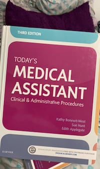 Third edition  today's medical assistant book