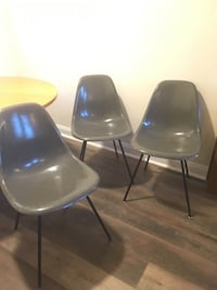 Set of 3, Original, Mid Century Modern, Eames Gray Chairs, from 1958 Catonsville, 21228