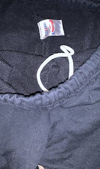Pair of comfy sweat pants. Size 3xl Blue or black?
