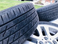 BMW tyre sets for sale with Alloys Brampton, L6V 5L6