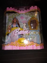 2005 MATTEL Barbie Mini Kingdom Princess Erika Doll Brand New   Miniature scale Barbie Birthday Inspired Dresses Include pet friends and accessories for celebrating Comes with tiara for girls to wear Age Range 3 to 14 Years  VIEW MY OTHER ADS!!! Toronto