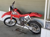 red and white Honda motocross dirt bike San Jacinto, 92583