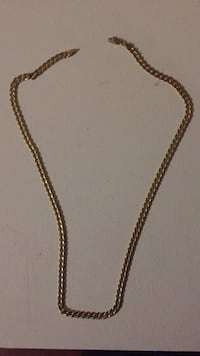 Gold-colored chain necklace Brampton, L7A 3H5