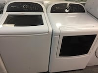 Whirlpool top load washer dryer set with warranty  Woodbridge, 22192