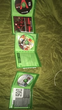 Xenoverse 1, Assasins Creed Unity, Evolve for Xbox one good condition Brampton, L7A 3X9