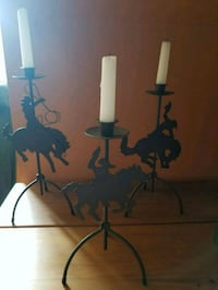 3 western candle holders Rockville, 20850