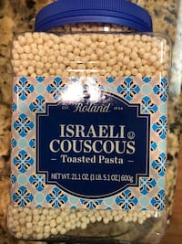 Israeli couscous, never opened. Does not have expiration date anywhere. 9 km