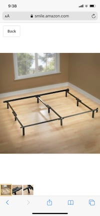 Twin bed frame- set of two