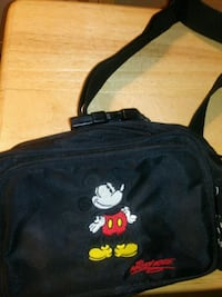 Disney Black Embroidered Mickey Mouse Fanny Pack Lakeland, 33805