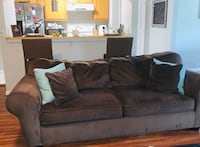 Comfy Chocolate Couch & Chair Needs A New Home Oxon Hill, 20745