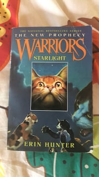 Warriors the new prophecy Starlight book by Erin Hunter Chester, 07930