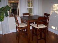 Crate and Barrel high top table and chairs Annapolis, 21401