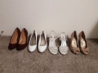 Assorted High Heel Shoes – Size 10 & 11