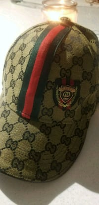brown and black Gucci monogram backpack Toronto, M6E 2K6
