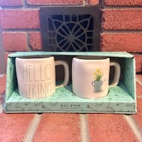 Rae Dunn Hello Spring Mug Set (New) Burlington, L7L 5W9