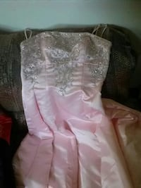 pink and white prom dress Bristol, 37620