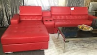 Sectional red  Irving, 75062