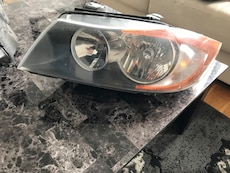 Car headlight bmw 2007 e90