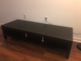 Table for TV, black-brown / perfect conditions