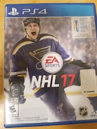 PS4 Madden NFL 17 game case Montreal, H1P 2K7