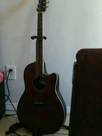 brown and black acoustic guitar Anaheim, 92801
