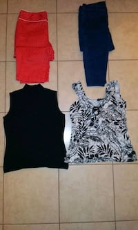 Large shirts in women and size 14bottoms Ocala, 34471