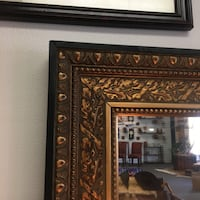 Beveled mirror with ornate frame a heavy piece that would be a jewel in anyone's home Tyler, 75701