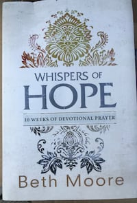 "BOOK:  ""Whispers of Hope"", by Beth Moore Martinsburg, 25401"