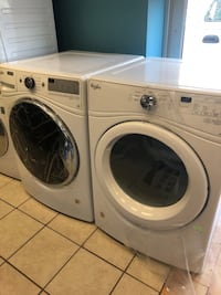 Brand New Whirlpool Front Load Washer and Electric Dryer Set (Scratch and Dent)  Elkridge, 21075