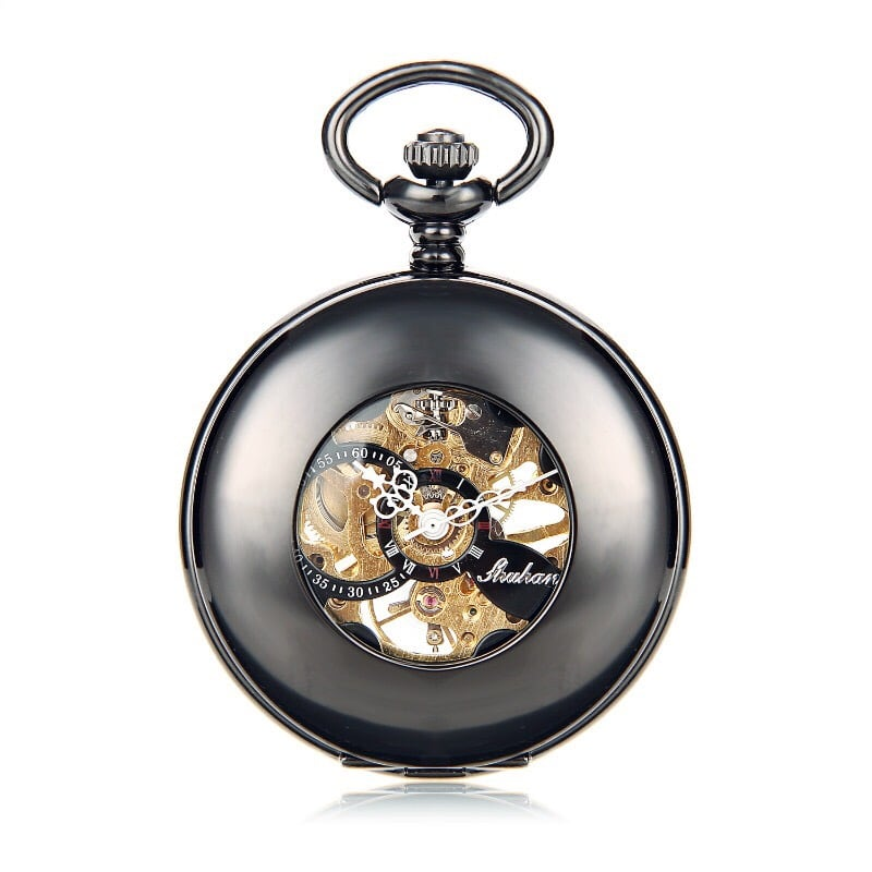 """The Mechanic"" Skeleton Pocket Watch! :)"