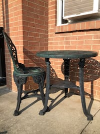 Bistro table with one chair  Findlay, 45840