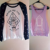 Bring me the horizon shirts