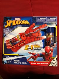 Spider-Man web shooter 2 in 1 BRAND NEW SEALED